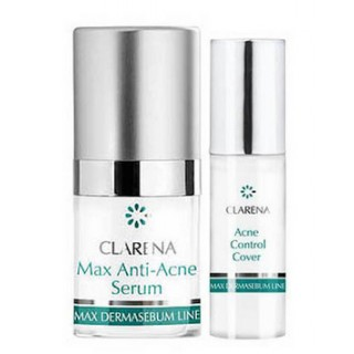 Набор Max Anti-Acne Serum 15 ml + Acne Control Cover 5 ml